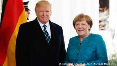 ترامب و ميركل