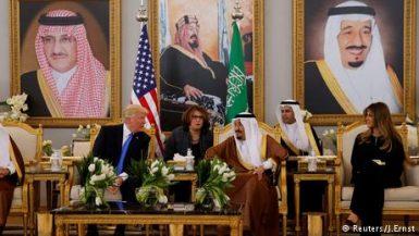 ترامب فى السعودية