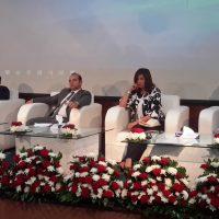 ندوة جامعة مصر الدولية بحضور وزيرة الهجرة