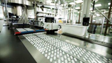 مصنع للأدوية