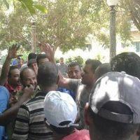 اضراب عمال مصنع السكر والصناعات التكامليــة