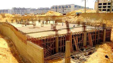 احدى مشروعات شركة شمال افريقيا للاستثمار العقاري