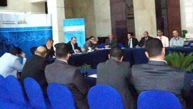 جانب من اجتماع البورصة مع رعاة قيد بورصة النيل 3