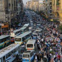 زحمة شوارع القاهرة
