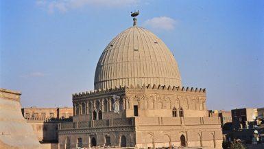 قبة مسجد الشافعى