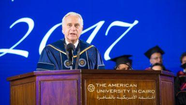 رئيس الجامعة الامريكية