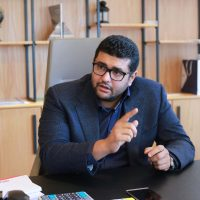 حسن المراكبي رئيس مجلس ادارة المراكبي للحديد و الصلب (8)