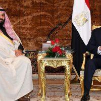 الرئيس السيسى وولى العهد محمد بن سلمان