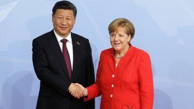 الصين والمانيا
