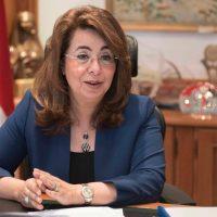 غادة والى - وزيرة التضامن الاجتماعى
