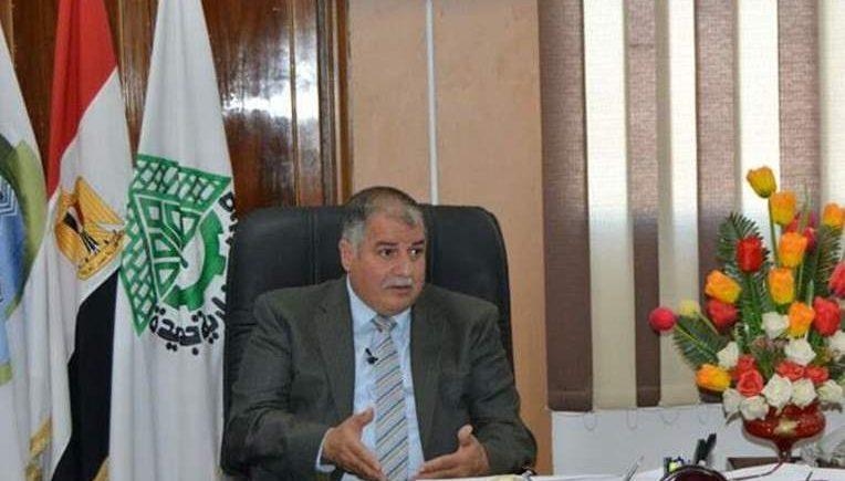 المهندس علاء منيع رئيس جهاز مدينة السادات
