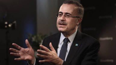 أمين الناصر رئيس وكبير الإداريين التنفيذيين لأرامكو السعودية