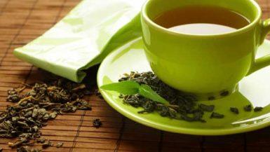 الشاى الاخضر