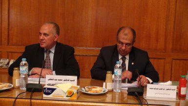 وزير الري ووزير الزراعة