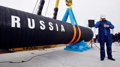 روسيا ، الغاز الطبيعى