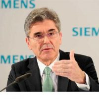 جو كايسر رئيس شركة سيمنس الألمانية العالمية