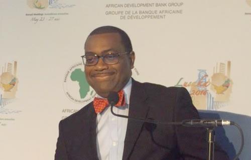 اكينومى اديسينا، رئيس البنك الأفريقى للتنمية