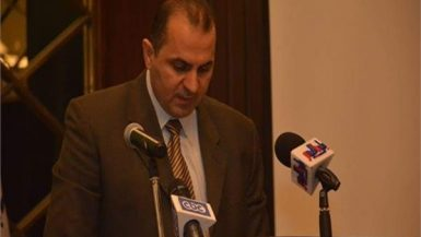 خالد الدستاوي وكيل أول وزارة الكهرباء والطاقة المتجددة
