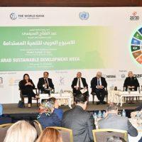 الأسبوع العربي للتنمية المستدامة 2018
