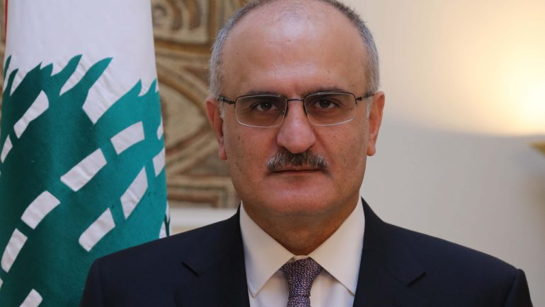 وزير المالية اللبنانى على حسن خليل