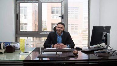 """محمد عاكف رئيس مجلس إدارة شركة """"نيو أركان"""""""