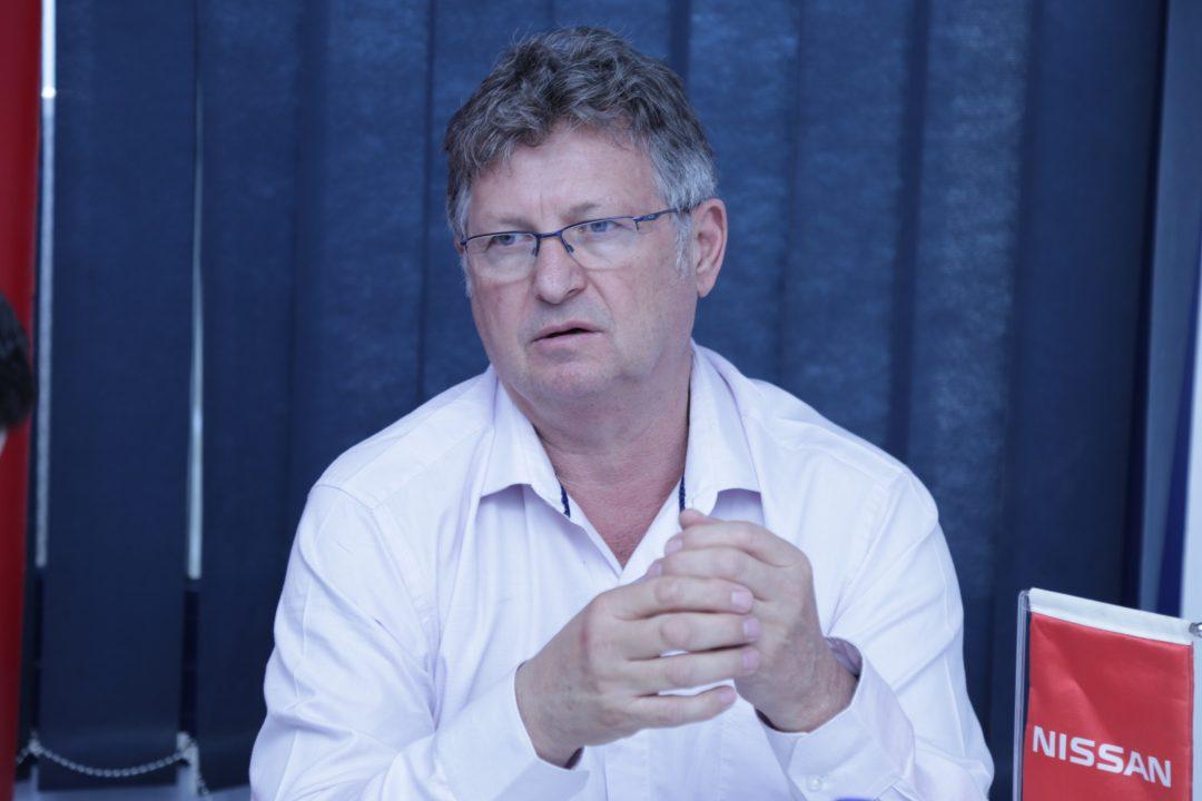 مايك ويتفيلد الرئيس التنفيذى لشركة نيسان مصر