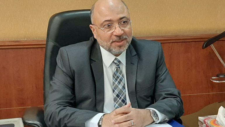 حسام عبدالعزيز رئيس مجلس إدارة الجمعية المصرية للتأمين التعاونى