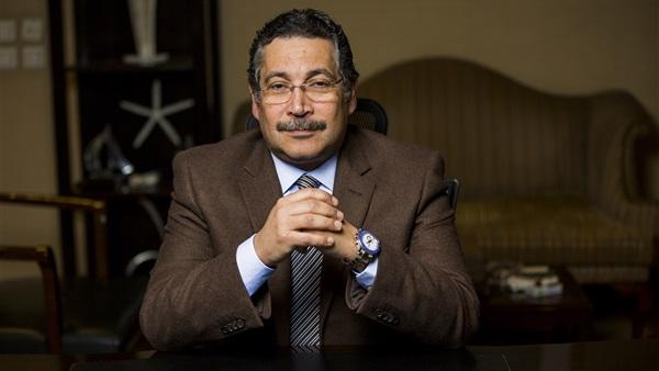 حسن غانم رئيس بنك الإسكان والتعمير ؛ رئيس سيتى إيدج