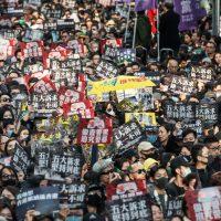 هونج كونج ؛ احتجاجات