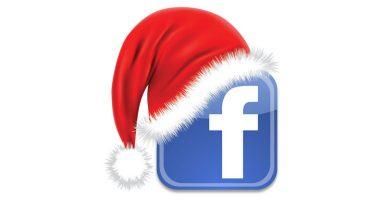 الكريسماس على فيسبوك