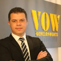 عمرو عاشور رئيس مجلس إدارة شرك فاو للاستثمار والتطوير العقارى