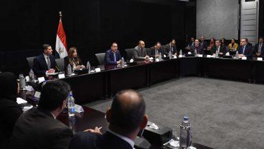 مصطفى مدبولى في الهيئة الاعامة للاستثمار ؛ هيئة الاستثمار ؛ وزارة الاستثمار