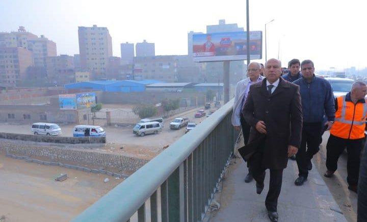 وزير النقل يتفقد أعمال صيانة