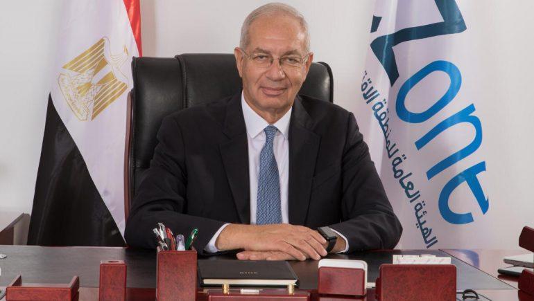 يحيى زكى رئيس الهيئة العامة للمنطقة الاقتصادية لقناة السويس