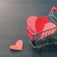التجارة الإليكترونية ؛ مبيعات الفلانتين