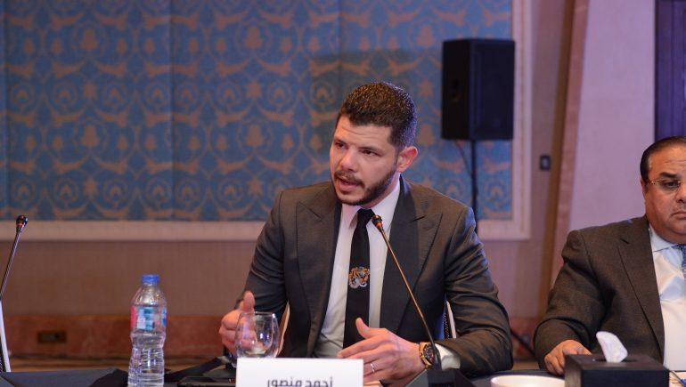 أحمد منصور ؛ كاسيل للتطوير العقارى