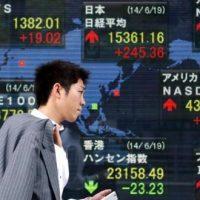 الأسهم الآسيوية