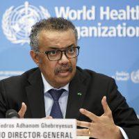 تيدروس أدهانوم مدير منظمة الصحة العالمية