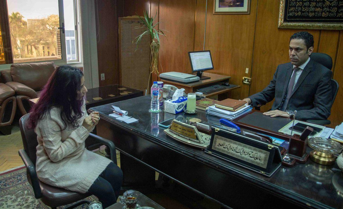 محمد عبدالعزيز رئيس مجلس إدارة شركة مصر للصوت والضوء