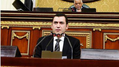محمد مصطفى السلاب عضو مجلس النواب ووكيل لجنة الصناعة