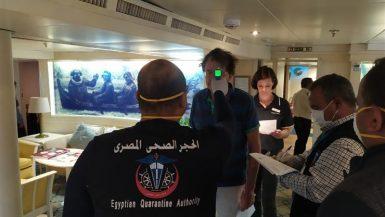 موانئ البحر الأحمر ؛ فيروس كورونا ؛ سفن سياحية