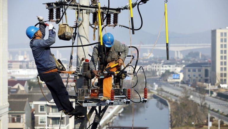 استهلاك الكهرباء فى الصين