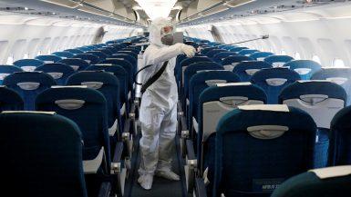 الطيران ؛ الطائرات ؛ فيروس كورونا