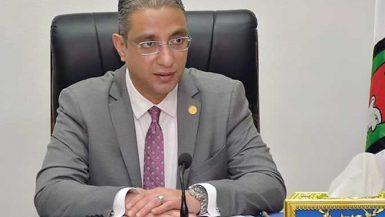 احمد الانصارى محافظ الفيوم