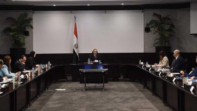 مجلس الوزراء ؛ مصطفى مدبولى