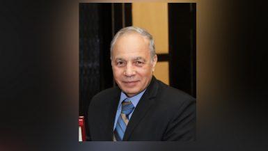 محمد سامى سعد رئيس الاتحاد المصرى لمقاولى التشييد والبناء