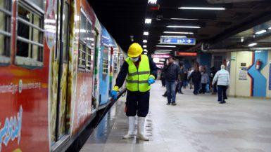 مترو الأنفاق ؛ المترو ؛ فيروس كورونا