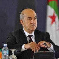 الرئيس الجزائر عبد المجيد تبون