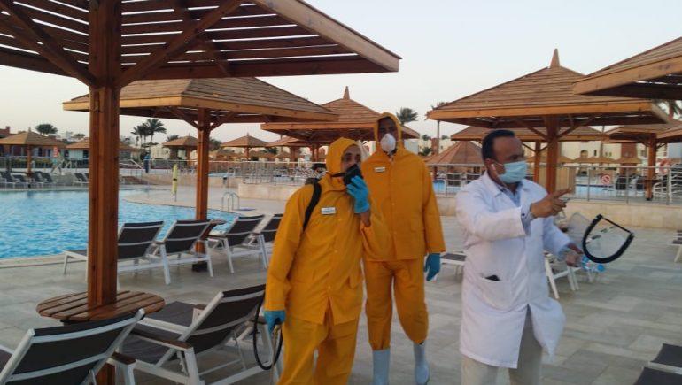 الفنادق ؛ فيروس كورونا
