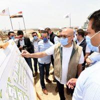 زيارة وزير الإسكان لمشروع صوارى - غرب كارفور بمحافظة الإسكندرية